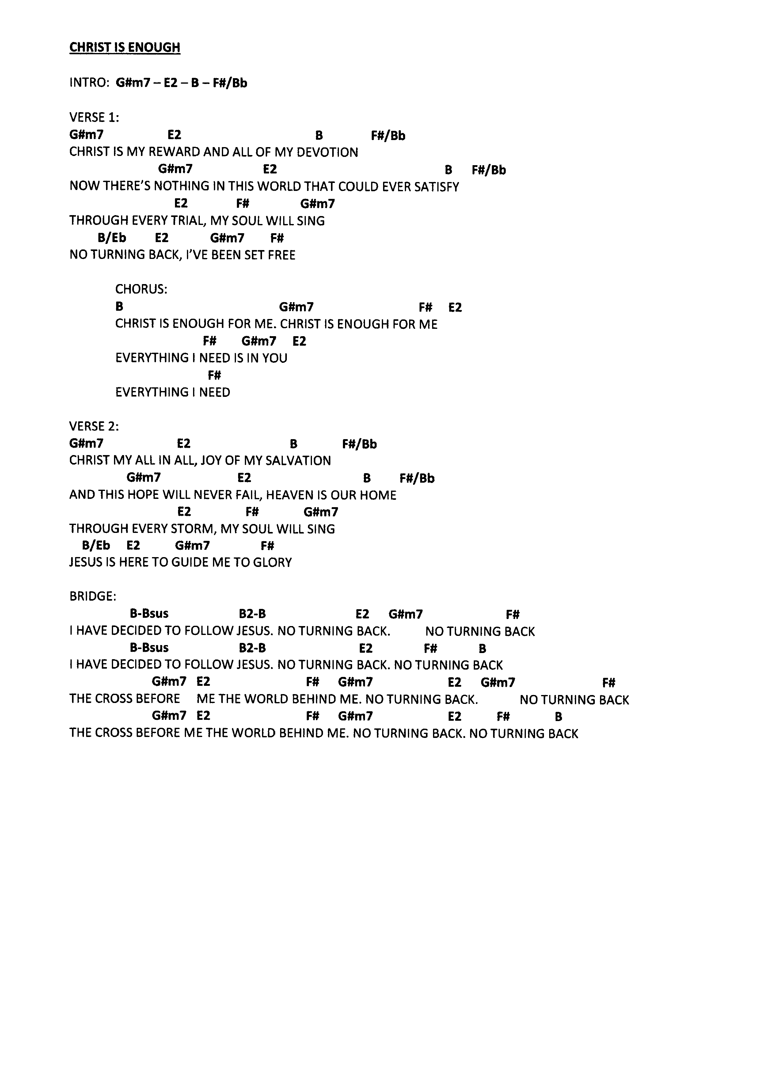 your grace is enough sheet music pdf